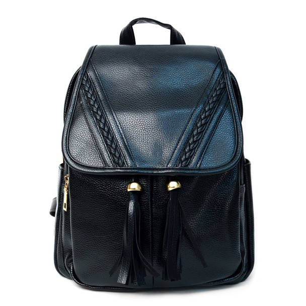 Women's PU Leather Mini Backpack - LBP2404