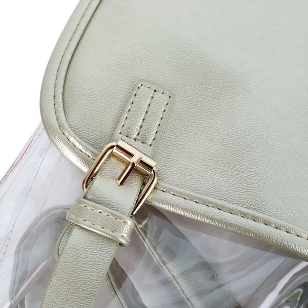 Stadium Approved Fashion Clear Backpack - CLBP2401