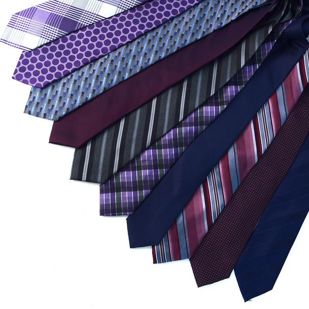 [10000pc] 100% Silk Designer Quality Ties Random  Assorted Pack- SWASST-10K