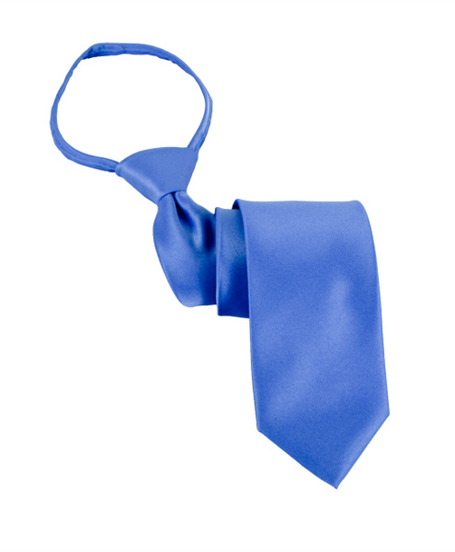 Poly Satin Extra Long Zipper Tie PSXZ1301