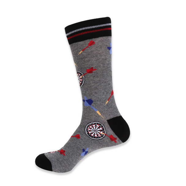 Men's Novelty Throwing Dart Socks - NVS19416