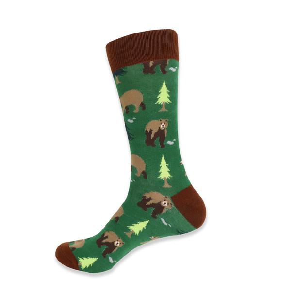 Men's Novelty Bear Socks - NVS19415