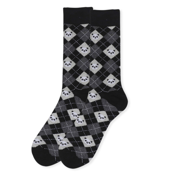 Men's Novelty Giant Panda Socks