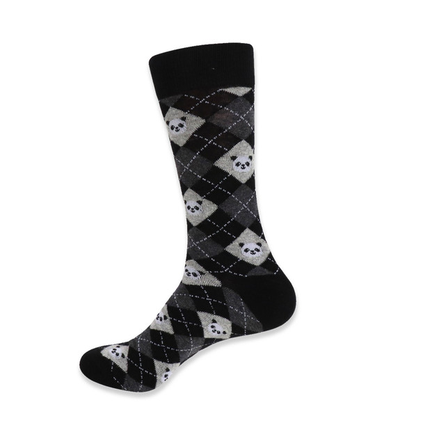 Men's Novelty Giant Panda Socks - NVS19414
