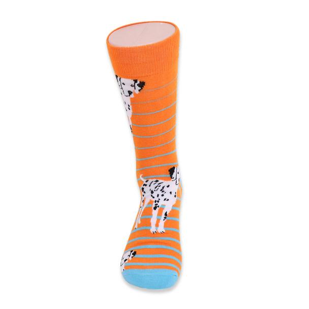 Men's Novelty Dalmatian Dogs Socks - NVS19410