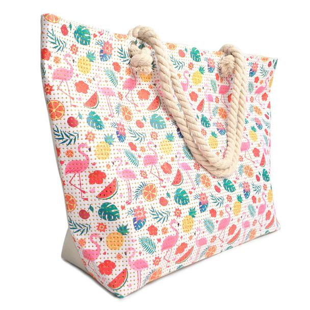 Tropical Summer Rhinestones Ladies Tote Bag - LTBG1215