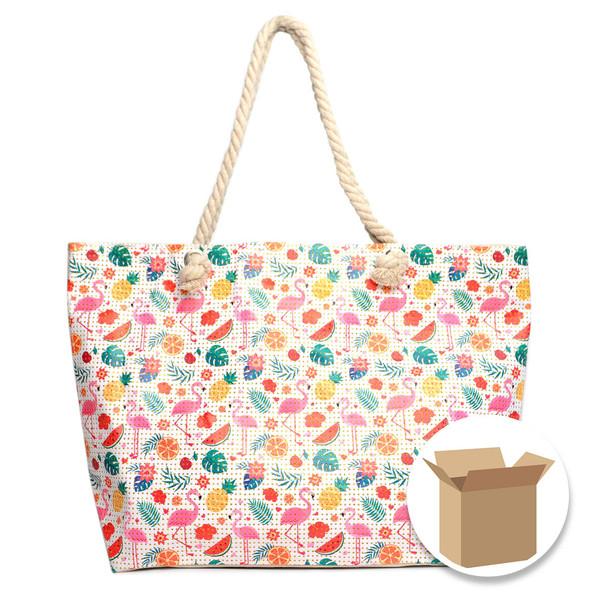 """Case Deal 48pc """"Tropical Summer"""" Rhinestones Ladies Tote Bag - LTBG1215-Case"""