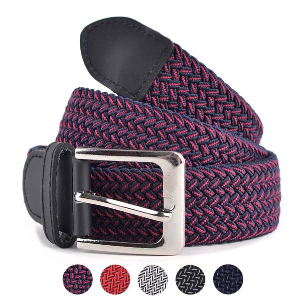 Men's Stretch Braided Woven Belts - BEB3301