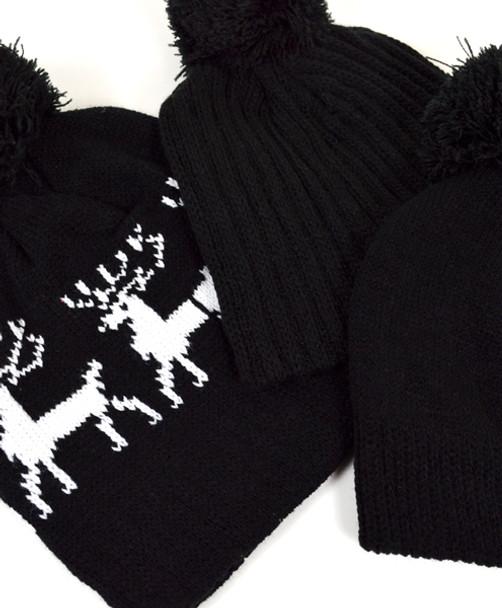 24pc Random Assorted Prepack Ski Hats HAP24