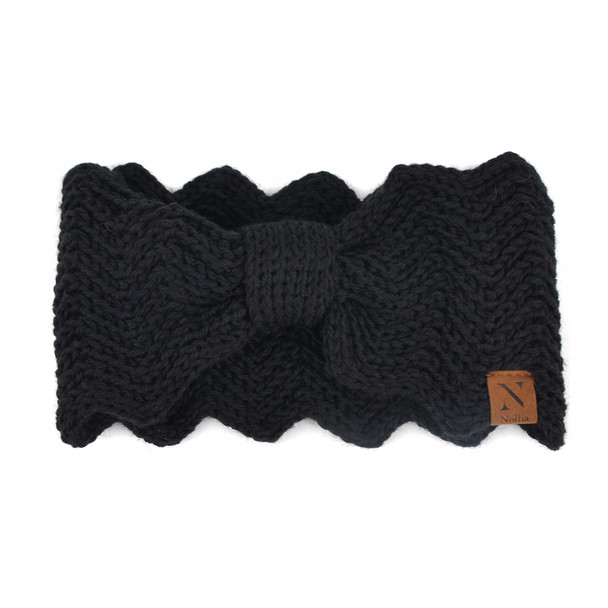 Women's  Knotted Knit Winter Head Band - WHB5003
