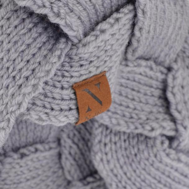 Winter Braided Knit Head Band - WHB5005