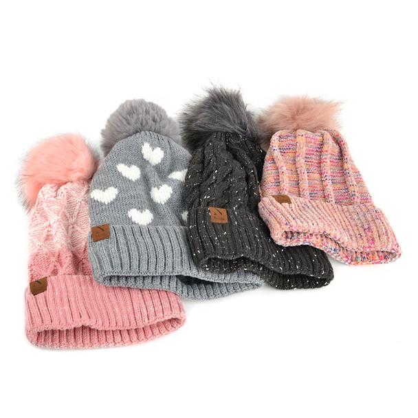Women's Winter Hats 4 Pack Sample Set - WHSAMPLE