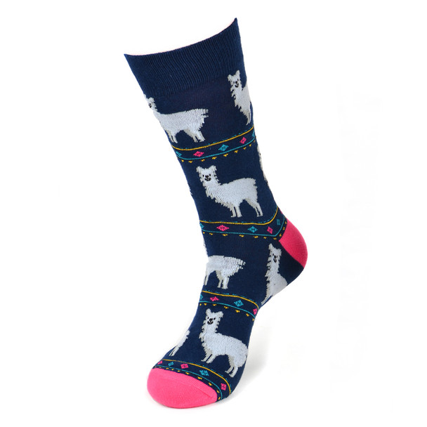 Men's Alpaca Fun Novelty Socks - NVS19407