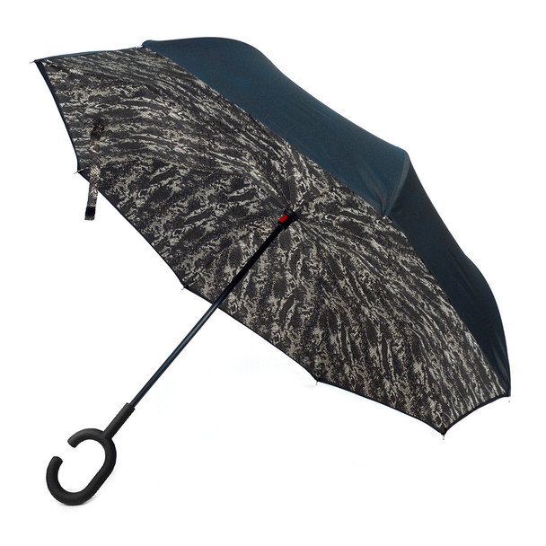 Snake print Double Layer Inverted Umbrella - UM5025