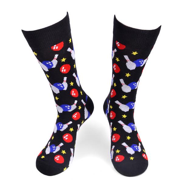 Men's Bowling Novelty Socks - NVS1768
