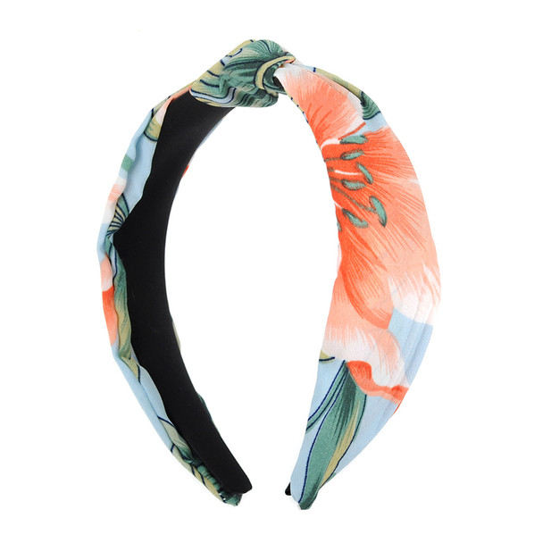 """Floral """"C"""" Shaped Head Band - PHB1006"""