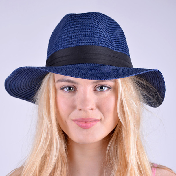 Spring/Summer Women's Wide Brim Hat - LFH19010