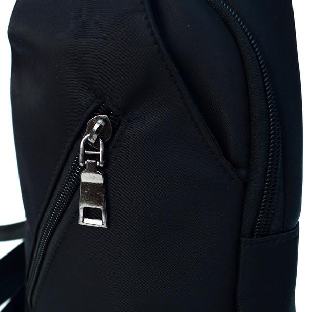 Black Travel Crossbody Sling Bag - FBG1840