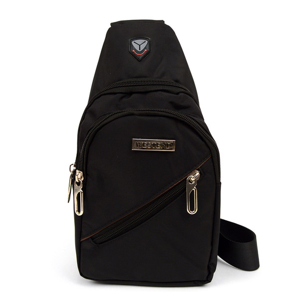Black Crossbody Sling Bag - FBG1828