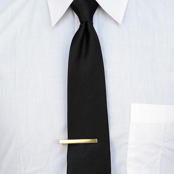 Straight Gold Tie Bar TB2000