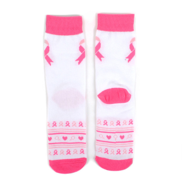 Women's Breast Cancer Awareness Novelty Socks - LNVS19437