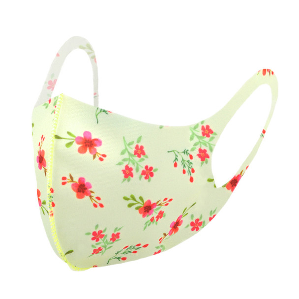 Cherry Blossom Floral Print Fashion Face Mask - PPE23
