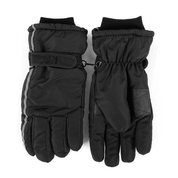Men's Ski Winter Gloves - MSK03-BK