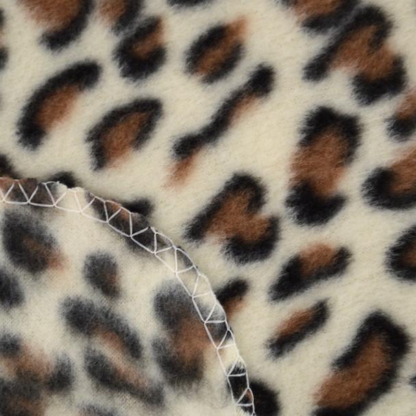 6pc Pack Women's Leopard Print Fleece Winter Set WNSET9014