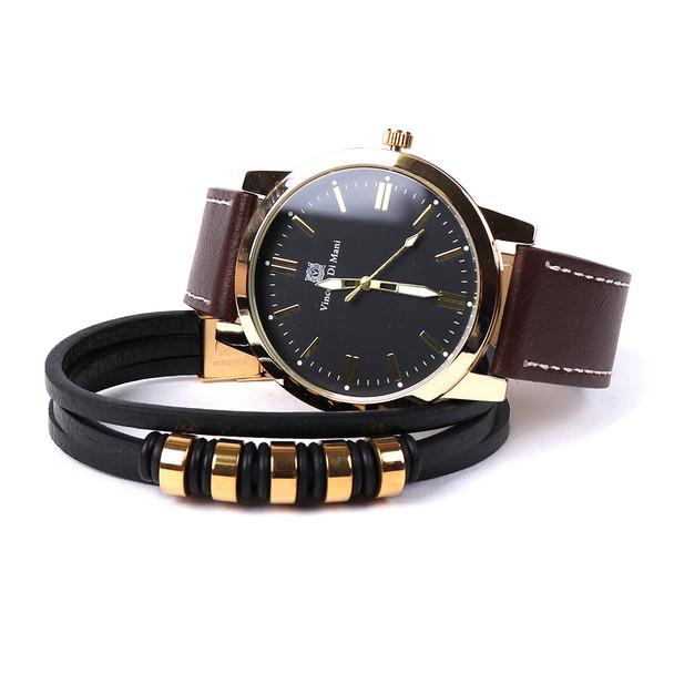 Men's Watch & Bracelet Gift Set - MWBB1018-6