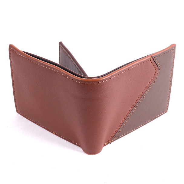 Men's Bi-fold Brown Wallet - MLW5212
