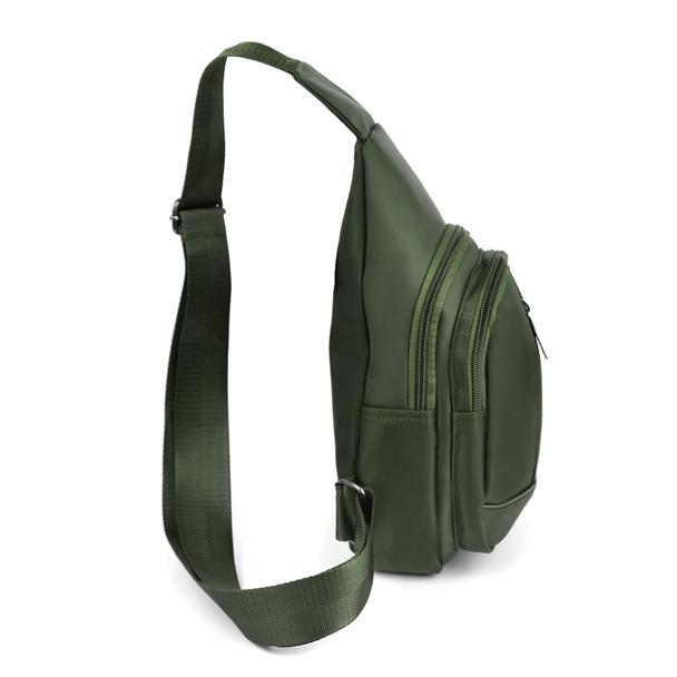 Olive Crossbody Sling Bag Backpack with Adjustable Strap - FBG1823-OL