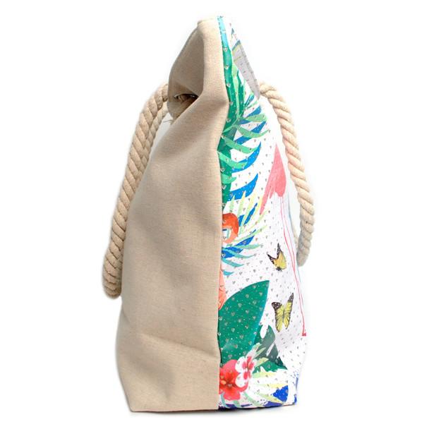 Summer Tropical Rhinestones Ladies Tote Bag - LTBG1210