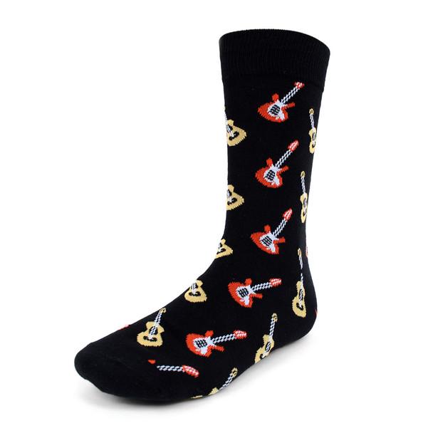 Men's Guitar Novelty Socks - NVS1813