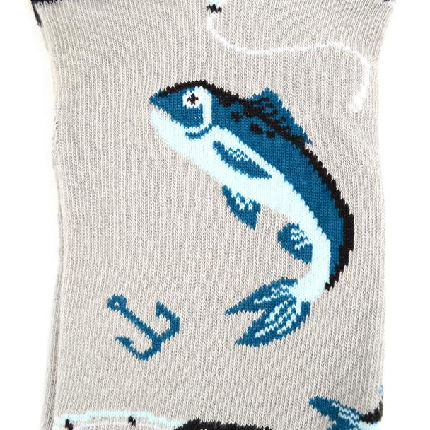 Men's Fish Novelty Socks - NVS1913