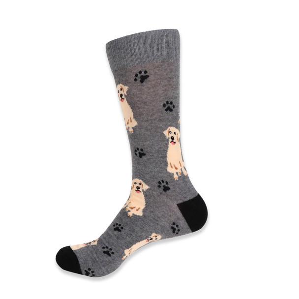 Men's Novelty Retriever Dog Socks - NVS19411