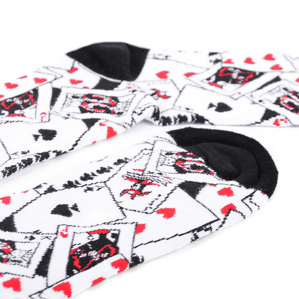 Men's Playing Cards Novelty Socks - NVS19428