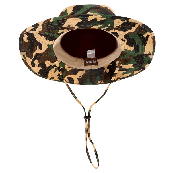 Camo  Wide Brim Boonie Hat - BHT1000-CAMO