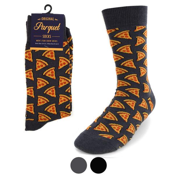 Men's Pepperoni Pizza Novelty Socks NVS1779-80