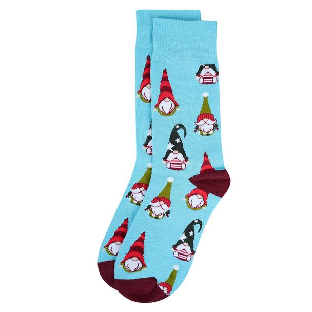 Men's Holiday Novelty Socks- NVS19615-BL