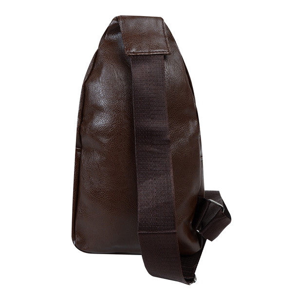 Synthetic Leather Crossbody Sling Bag- FBG1862