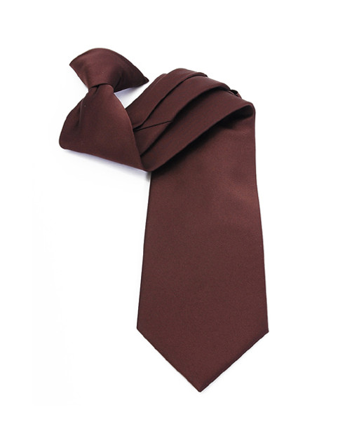 Poly Solid Clip On Tie PSC2401