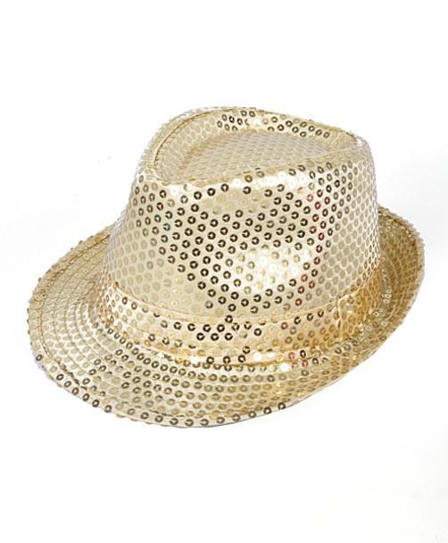 47f0b138f4174 Unisex Sequin Fedora Hat H10246582