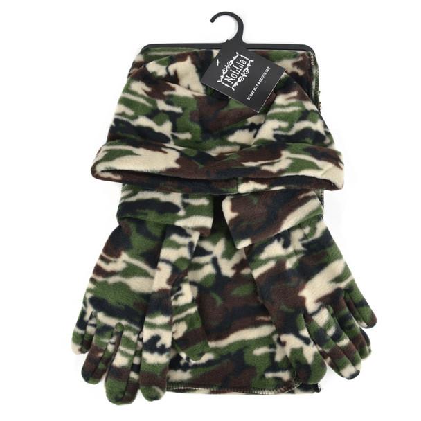Women's Fleece Camo Winter Set WNTSET1000
