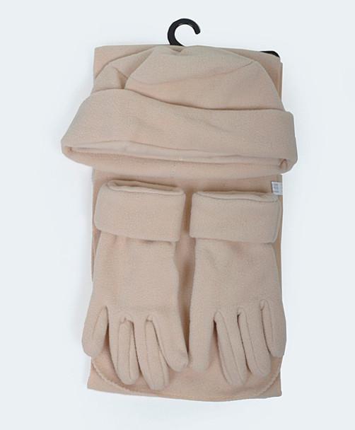 Women's Polyester Fleece Winter Set WSET50