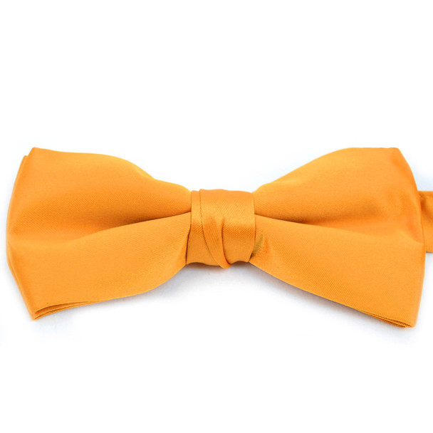 "Men's 2.5"" Poly Satin Banded Bow Ties BT1301BX"