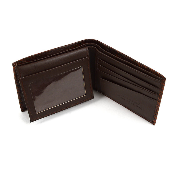 Bi-Fold Genuine Leather Lizard Wallet MGLW-A36L