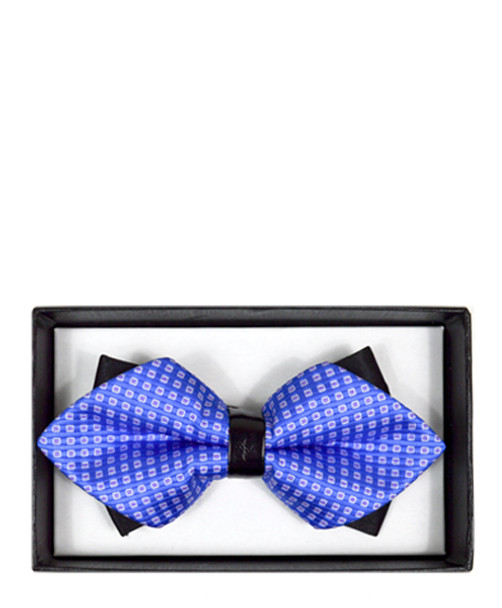 Diamond Tip Banded Bow Tie DBB3030-15