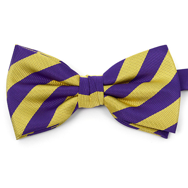Micro Fiber College Banded Bow Tie CBB3801