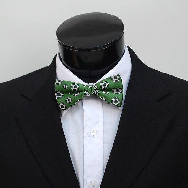 Men's Soccer Ball Self-Tie Freestyle Bow Tie