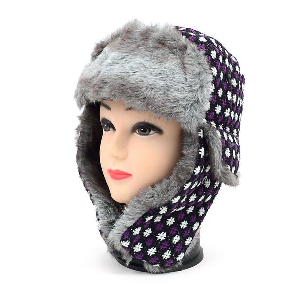 36pc Random Assorted Prepack Aviator Winter Hat with Earflaps HTASST